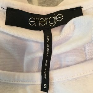 Energie Tops - [Energie] 'I Will Cause I Can' Short Sleeve Tee
